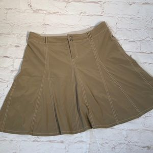 Athleta Skirt.  Built in shorts. Size 16 Stretchy!